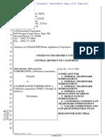 BSH v. Caliber Range - Complaint