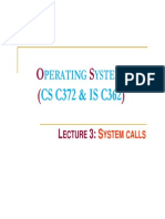 Lect03 System Calls