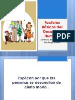 Factores de Desarrollo Humano