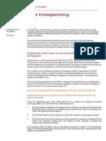 Financial Service Tax Bulletin