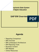 Sap Bw Overview