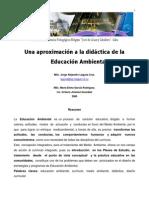 Aproximación a La Didactica de La Educacipon Ambiental