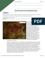 La mano del neandertal asoma tras las pinturas más antiguas | Sociedad | EL PAÍS