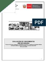 Evaluacion de Docentes Lima
