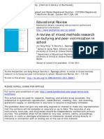 2012 a Review of Mixed Methods Research