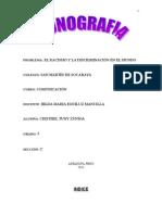 Monografia de Racismo y Discriminación en El Mundo