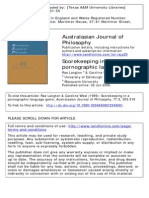 Australasian Journal of Philosophy Volume 77 Issue 3 1999 [Doi 10.1080%2F00048409912349061] Langton, Rae; West, Caroline -- Scorekeeping in a Pornographic Language Game