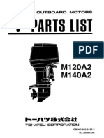 Tohatsu Parts Catalog M120A2-140A2