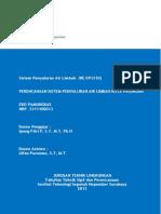 Sistem Penyaluran Air Limbah Overview