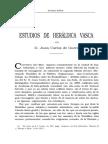 Juan Carlos de Guerra - Estudios de Heraldica Vasca