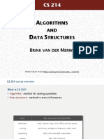 CS214 ALGORITHMS AND D ATA STRUCTURES