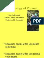 Biology of Pruning