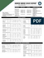 07.27.14 Mariners Minor League Report