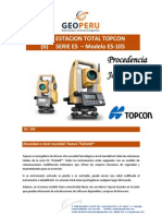 Especificaciones Tecnicas Estacion Total ES-105