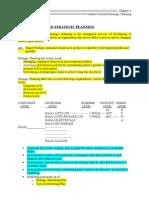 Ch-3 (Market Oriented Strategic planning)
