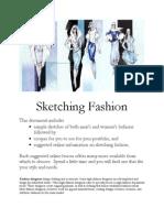 2013 Fashion Designer's Choice Sketching