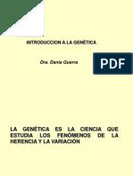 Tema 1 Introduccion a La Genetica
