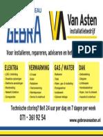 Gebra Van Asten Diensten