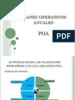 Planes Operativos Anuales POA