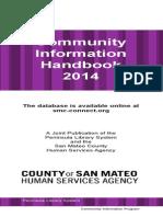 san mateo community information handbook 2014