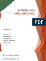 HIPERTENSION INTRAABDOMINAL