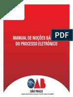 Manual Process o Eletronic o 1