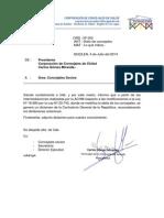Ord. Nº 2 Corporación de Concejales de Chiloé