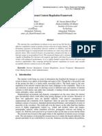 Khan Internet content Regulation Framework