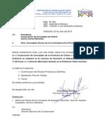 Ord. Nº 4 Corporación de Concejales de Chiloé