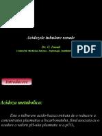 Acidozele tubulare renale