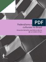 Federalismo e Políticas Culturais No Brasil (EDUFBA) - Correções