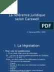 La r%E9f%E9rence Juridique Selon Carswell