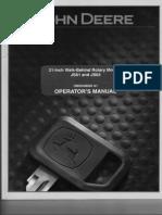 John Deeree - Operator's Manual JS61 Rotary Mowers
