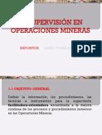Supervision Operaciones Mineras