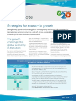 G20 - Policy Note Strategies for Economic Growth