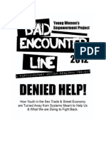 Bad Encounter Line Report 20121