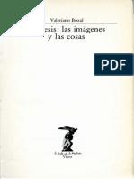 MIMESIS Las Im Genes y Las Cosas Valeriano Bozal