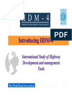 Introduccion Al Modelo HDM4