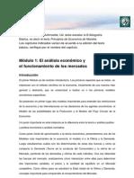 Lectura 1. El Análisis Económico y El Funcionamiento de Los Mercados_vf