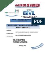 Impacto de Las Obras Civiles en El Medio Ambiente Corregido 29.06