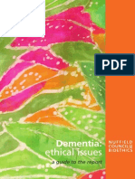 Nuffield Dementia Short Guide