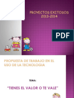Proyecto Aúlico 6to 2013-2014