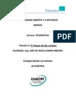 FIS1_U2_P4E1_LRCG_Bases de Datos_Actividad 5. Práctica 4. El Choque de Dos Cuerpos.