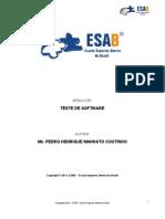 Teste de Software - Pos-graduação-ESAB