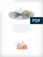 ZEALANDIA Wedding Brochure