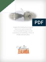 ZEALANDIA Wedding Brochure