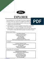 1996 Explorer