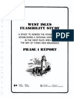 West Isles Marine Park Phase 1 Report