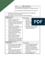 udl phys ed lesson plan