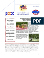 SOCDC - July 2014 Newsletter